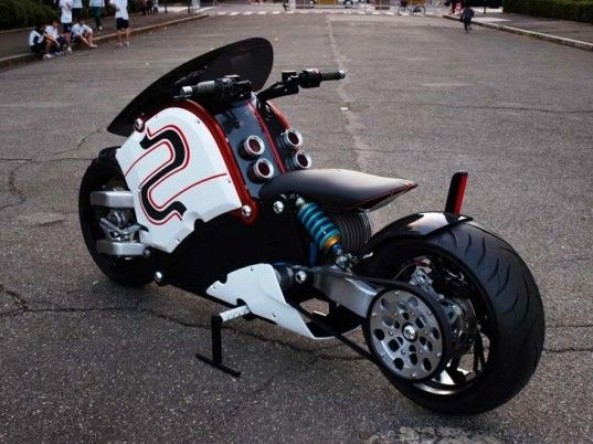 Stunning Zecoo Electric Motorcycle Unveiled At The 2012 Tokyo