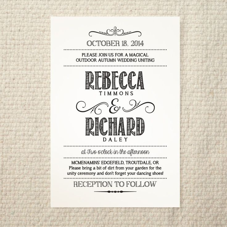 wedding invite template - Google Search | For LuLu | Pinterest ...