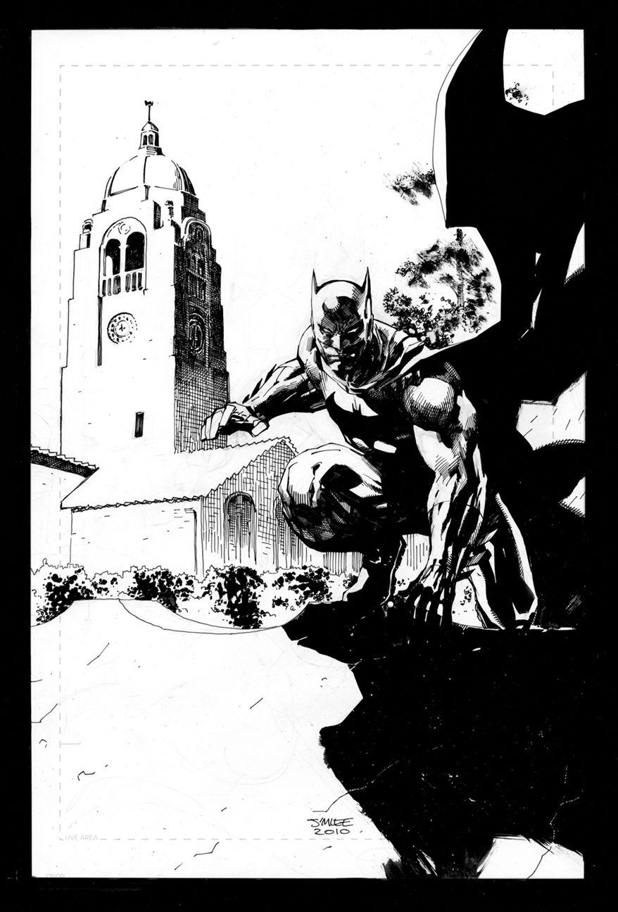 Batman and Tower by jimlee00.deviantart.com on @deviantART