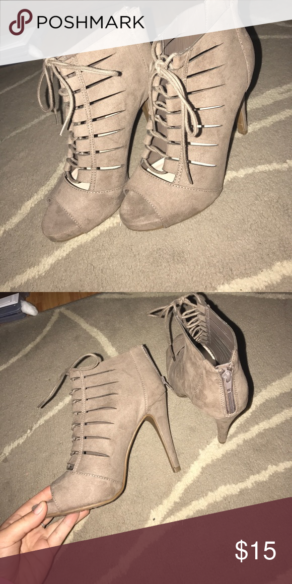 Heels! Great condition, worn once! Fergalicious Shoes Heels
