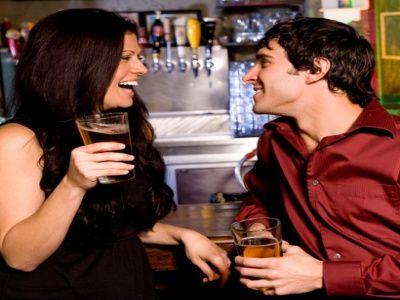 girl flirts less after dating