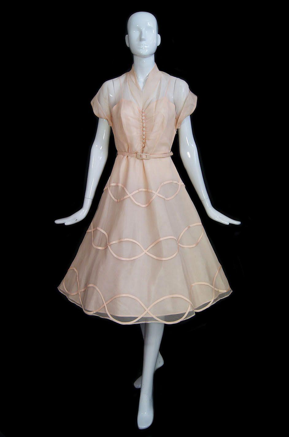 S ribbon u netting peach dress if i were thin pinterest