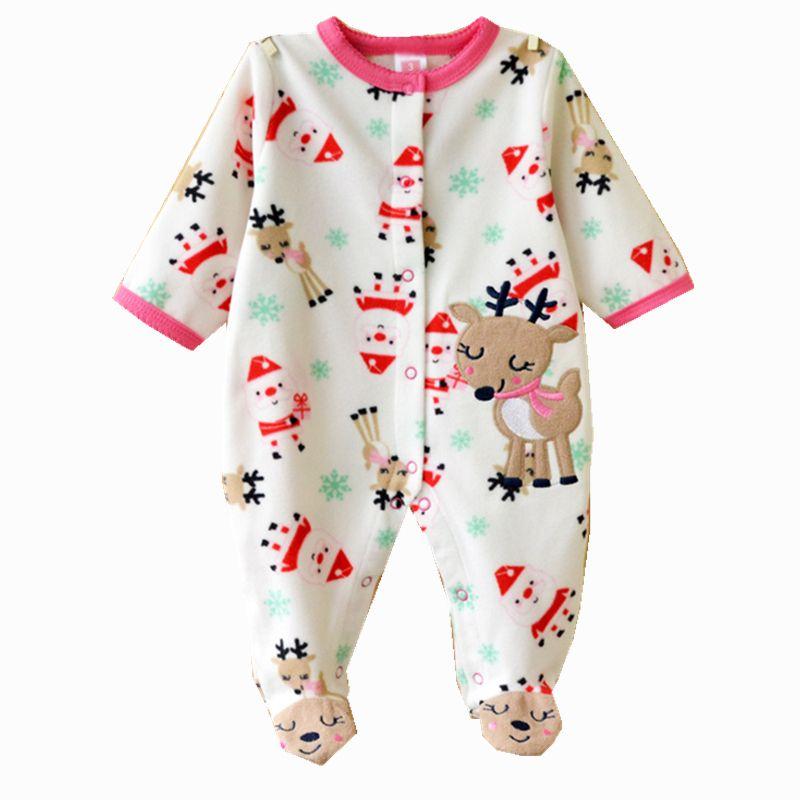 0b1dc588b5c1 Cuerpo Bebe bebé de los mamelucos Fleece Carters niños niñas Roupa ...