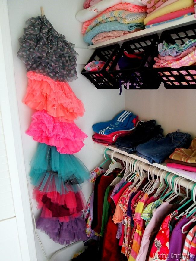 Childrenu0027s Closet Organization Ideas... A Place For Everything!   Reality  Daydream