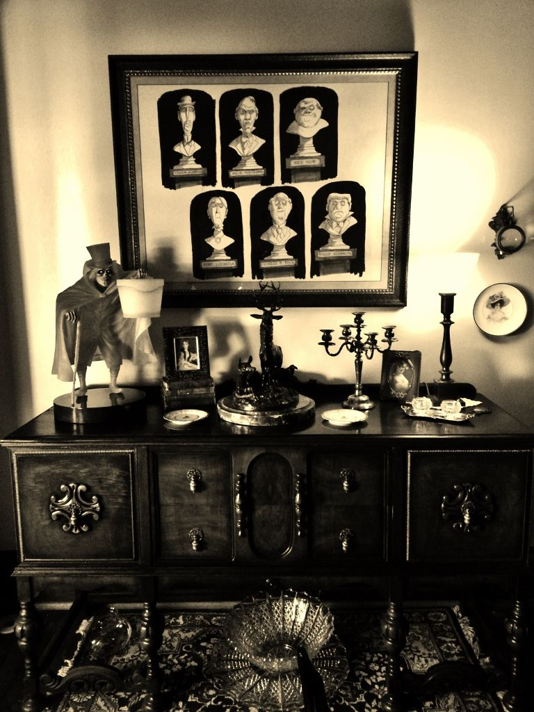 The Haunted Mansion Dining Room  Halloween I Adore ~~  Pinterest Unique Haunted Mansion Dining Room Design Inspiration