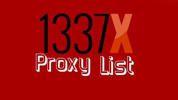 1337x unblocked proxy
