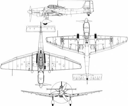 Junkers Ju 87 D2 Stuka