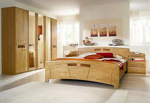 Home affaire Schlafzimmer-Set (4-tlg) »Sarah«, mit Bett 180\/200 - schrank für schlafzimmer