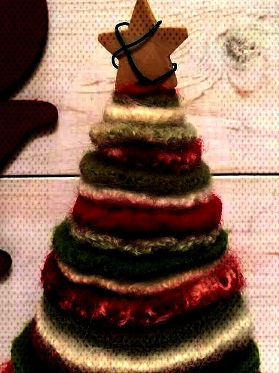 valcarcel-05  Christmas Cone Trees with supplies from @Ben Franklin Crafts and Frames  56 Beautiful