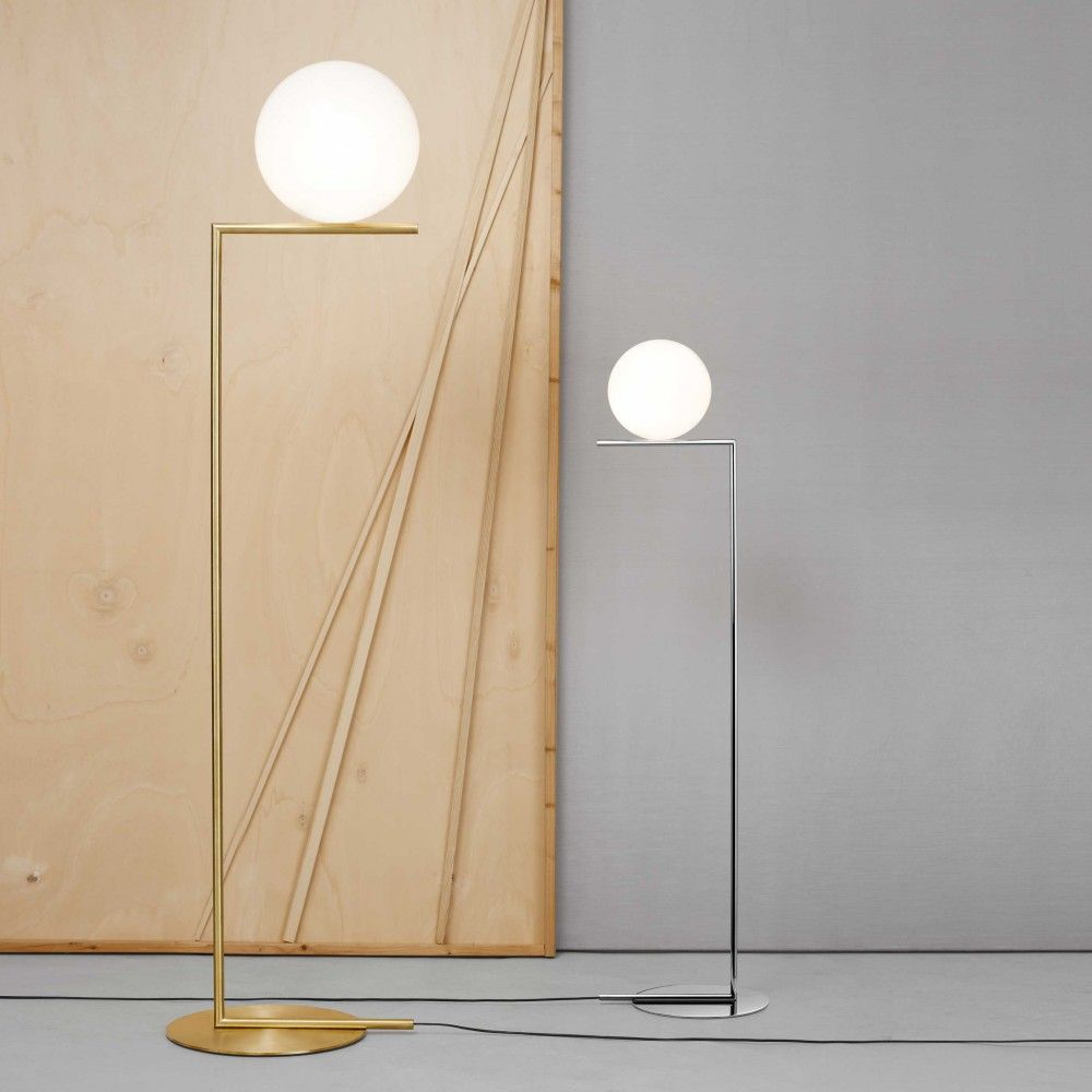 Ic floor lamp by flos luminaire pinterest floor lamp lights