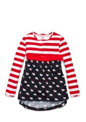 J. Khaki  Scottie Top Toddler Girls
