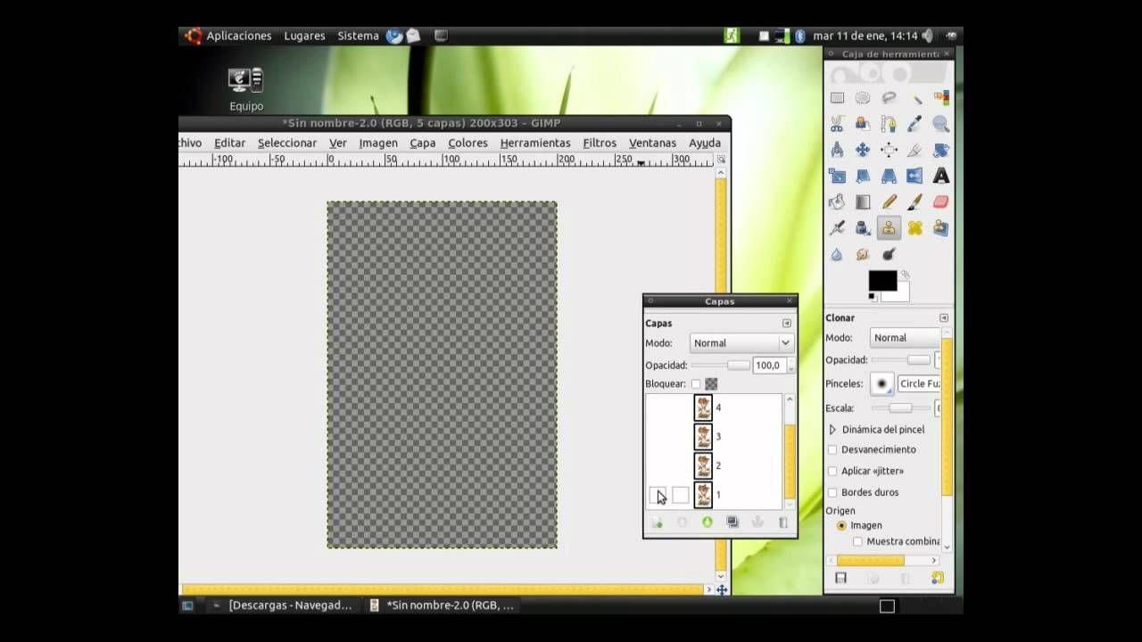 Diseño Gráfico En Gnu Linux Clase 27 Como Crear Un Gif Animado Con Gimp Youtube