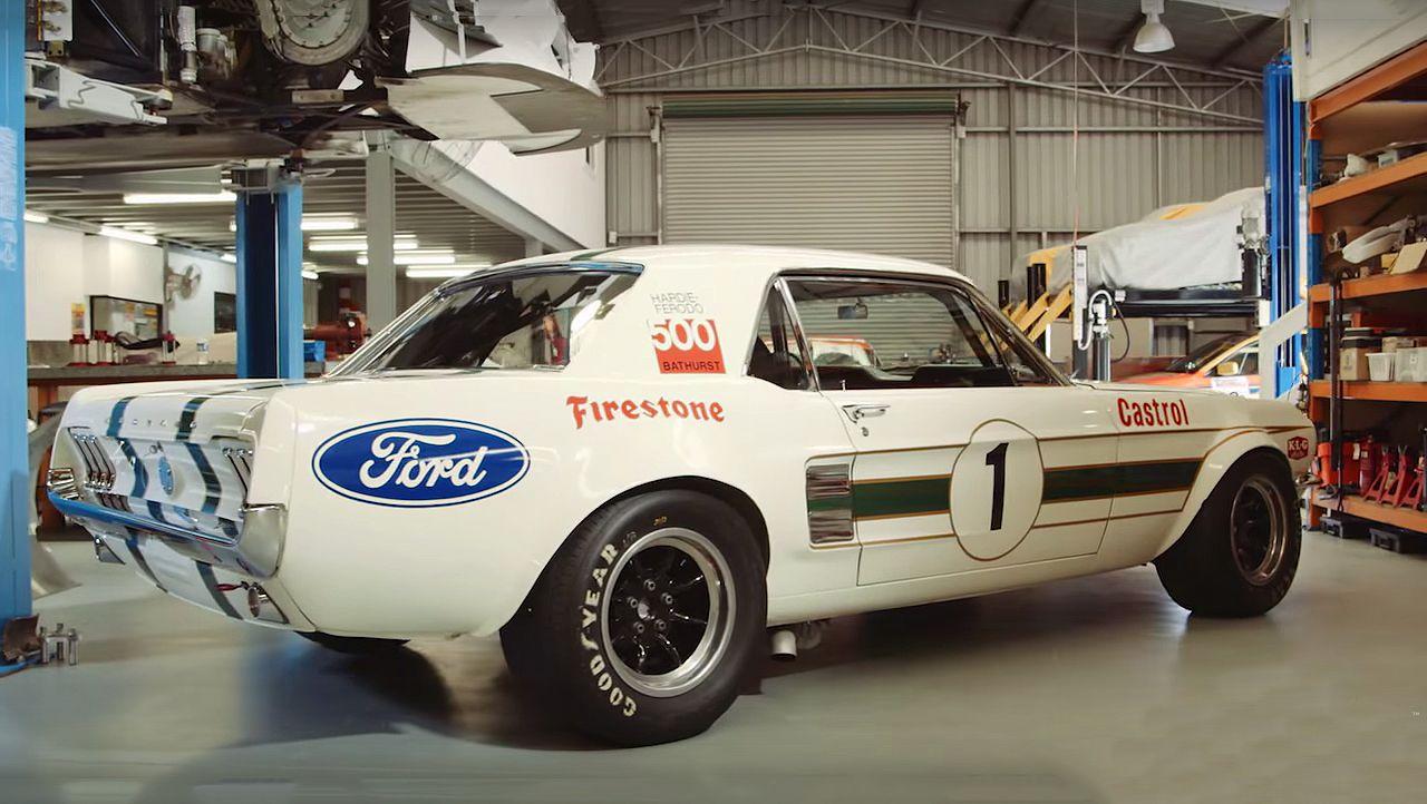 Pete Geoghan S 1967 Ford Mustang Race Car Ford Mustang Cobra