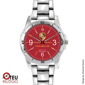 Mostrar detalhes para Relógio de pulso OTR 0008 LOGO PORSCHE VERMELHO