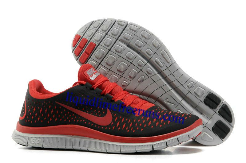 wholesale dealer 5f788 16bba ... where can i buy mens nike free 3.0 v4 black gym red wolf grey shoes mens