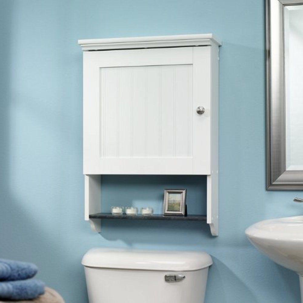 Ebay #Wall #Bathroom #Cabinet #Furniture #Pressed #Wood #Shelf ...