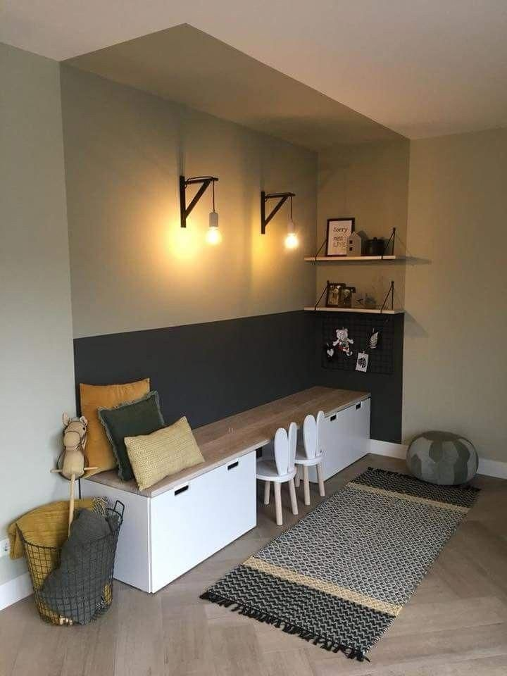 20+ Kids Room Design Ideas with Brilliant Layout Design #kidsroom