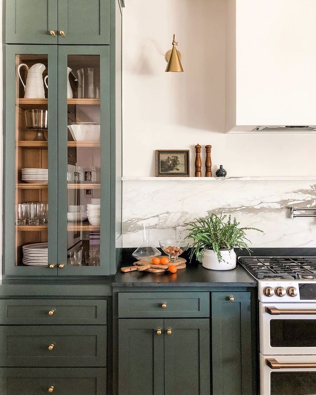 Rejuvenation On Instagram For Something You Touch As Often As Cabinet Hardware You Re Going To W Green Kitchen Cabinets Kitchen Interior Diy Kitchen Remodel