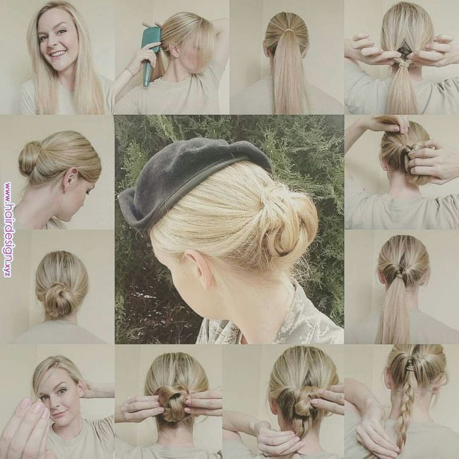 Flippy Bun Updo Great For Military Hairstyles Pinterest Military Hair Hair Styles And Military Bun Fli Military Hair Military Bun Short Hair Styles
