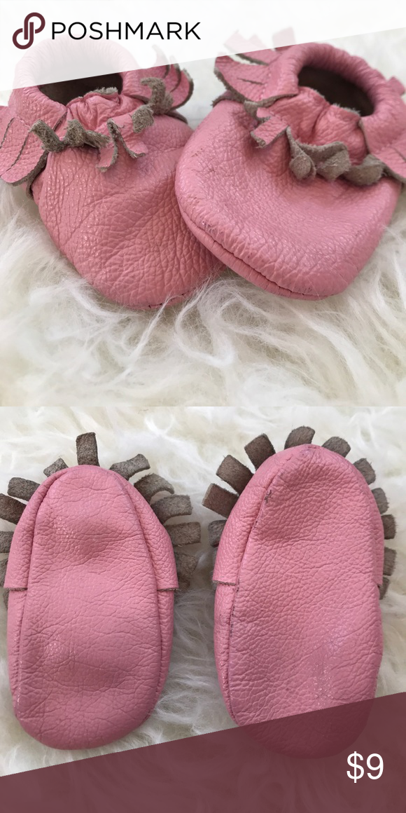Monkey Feet Usa Moccasins Size 0 6 Months Shoes