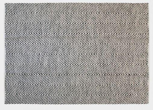MONOQI | 120x170 Wool Rug - Grey