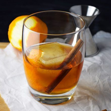 The Old Fashioned: Easy To Make Well At Home, Easy To Old fashioned drink with simple syrup