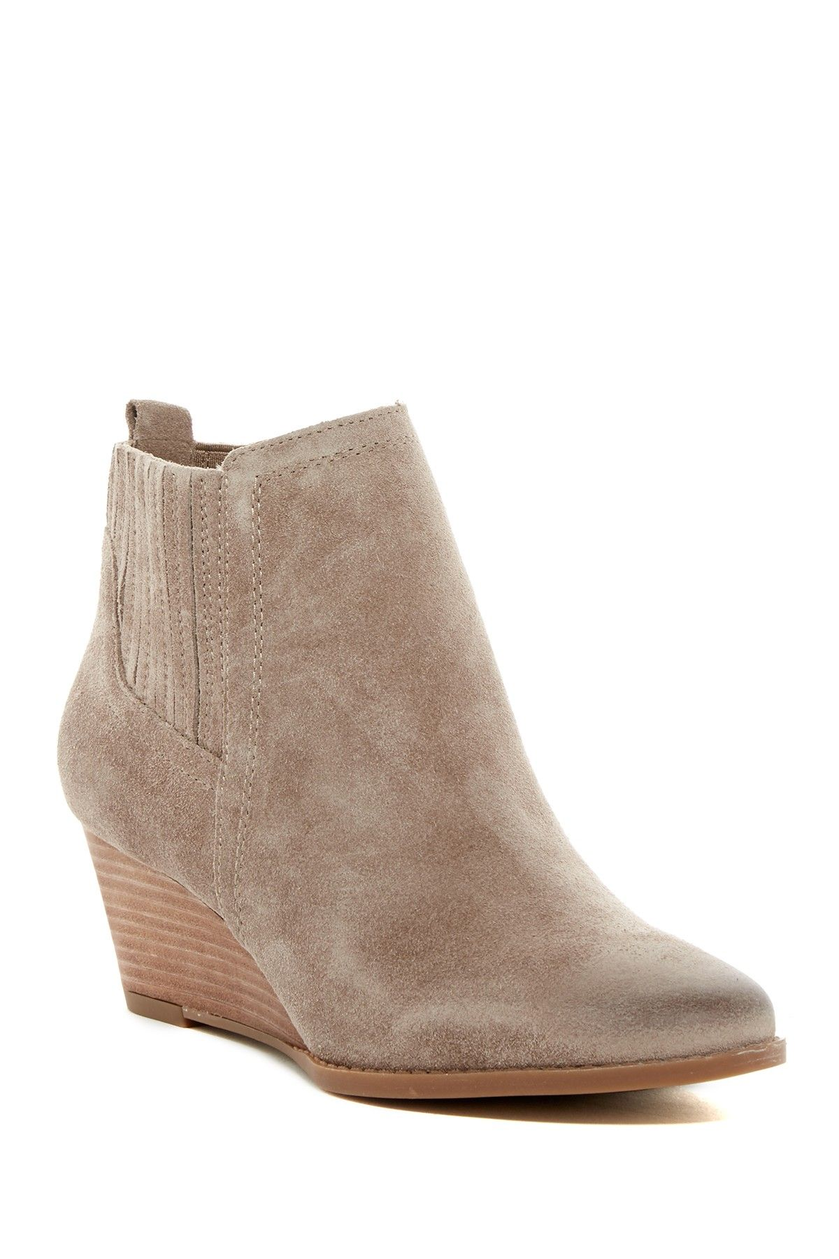 36632f84cb52 Wayra Wedge Bootie - Wide Width Available by Franco Sarto on  nordstrom rack