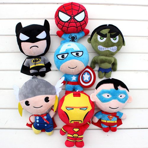 made to order Avengers plushies