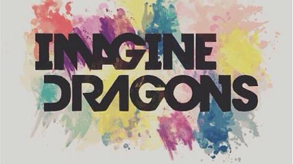 imagine dragons colorful logo