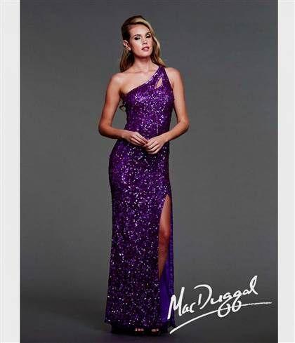 cheap purple long prom dresses 2018
