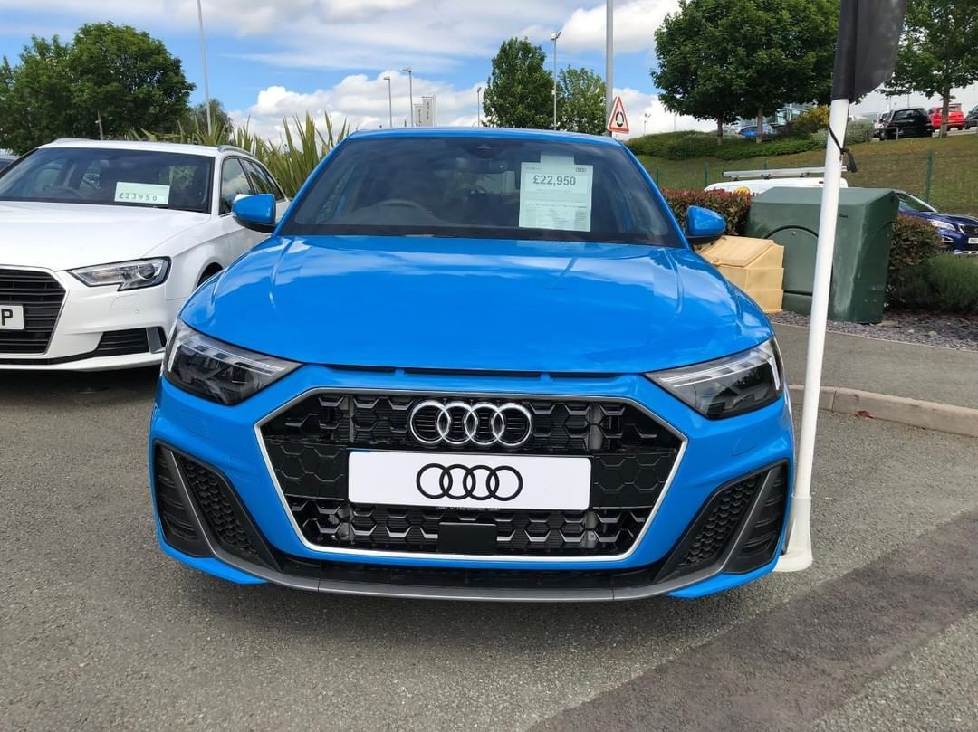 2019 Audi A1 Sportback Turbo Blue Driving Interior And