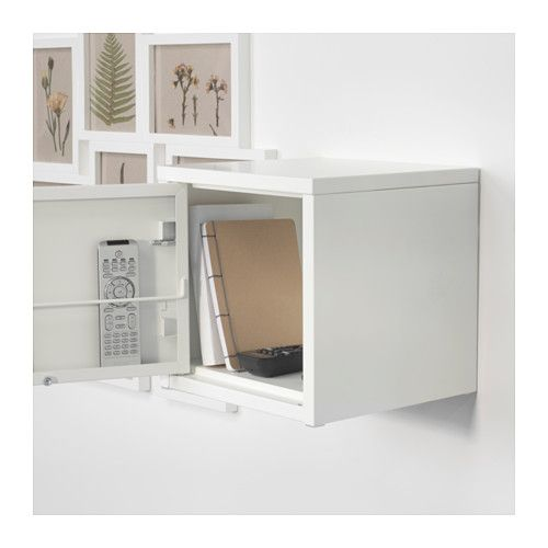 Lixhult Cabinet: LIXHULT Cabinet, Metal, White