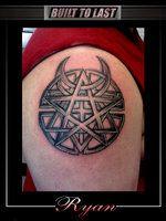 Disturbed Logo Tattoo