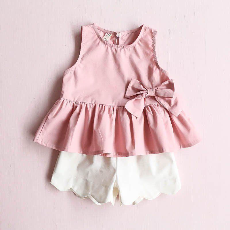 562e86030d5c Cute sleeveless dress for your little girl