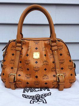 Get one of the hottest styles of the season! The MCM  heritage Boston CONAK Tote  Bag is a top 10 member favorite on Tradesy. e25f57aa91973