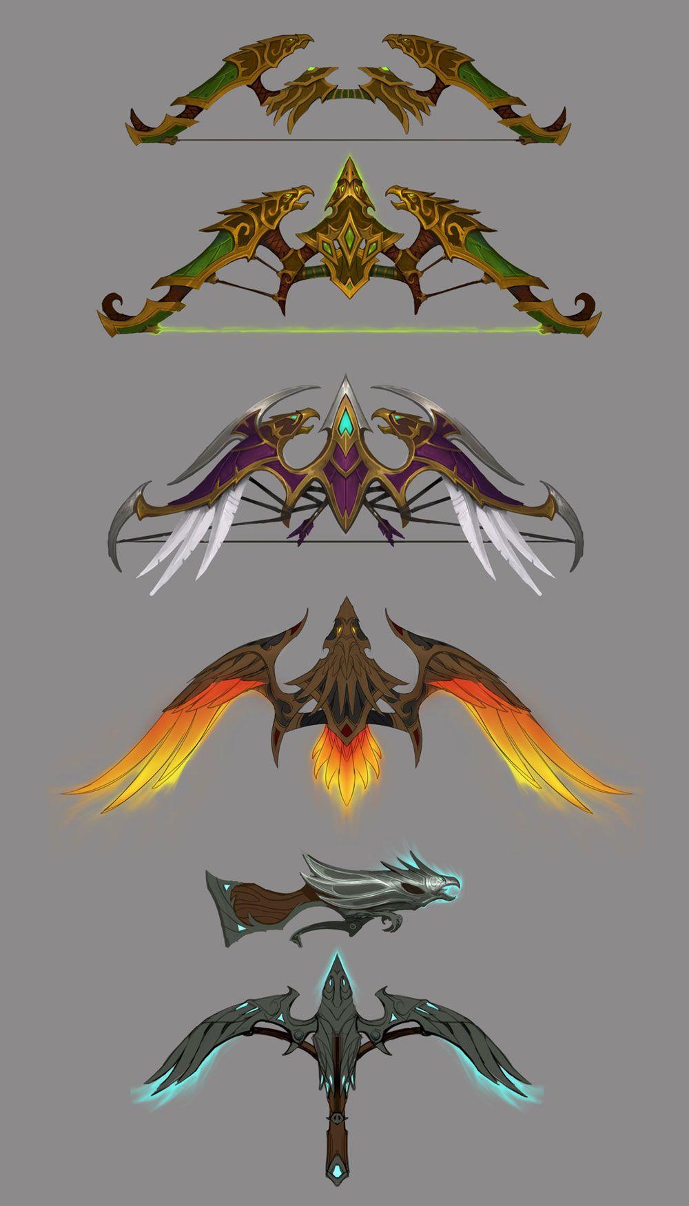 c56cddd16 Marksmanship Hunter Weapons from World of Warcraft  Legion Espadas Y Dagas