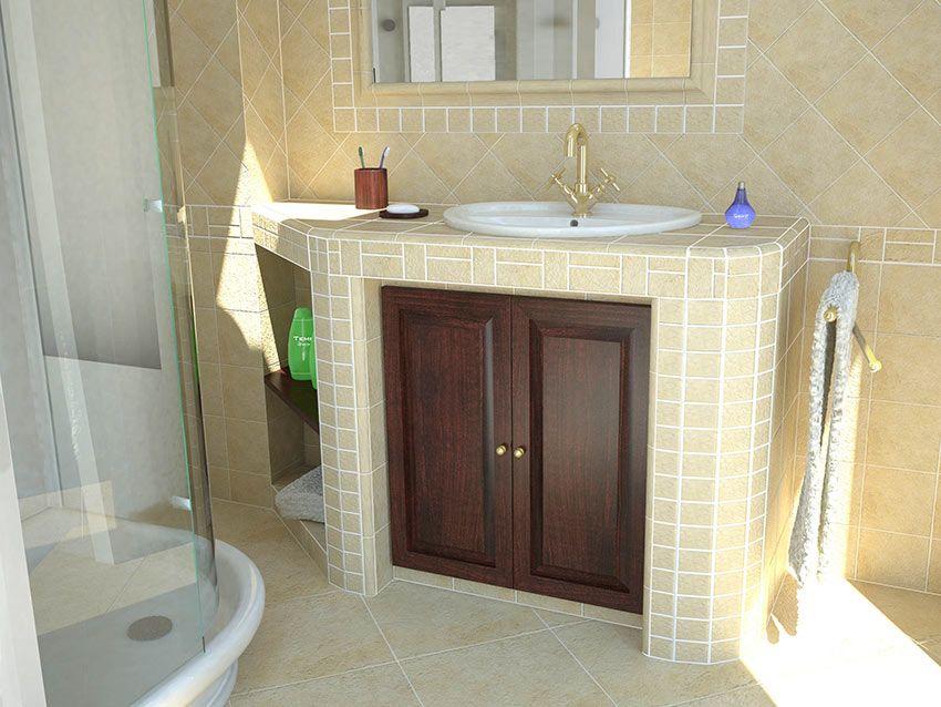 Il Fascino Dei Bagni In Muratura Un Compromesso Tra Rustico E Moderno Bagni In Muratura Arredamento Bagno Toilette Da Bagno