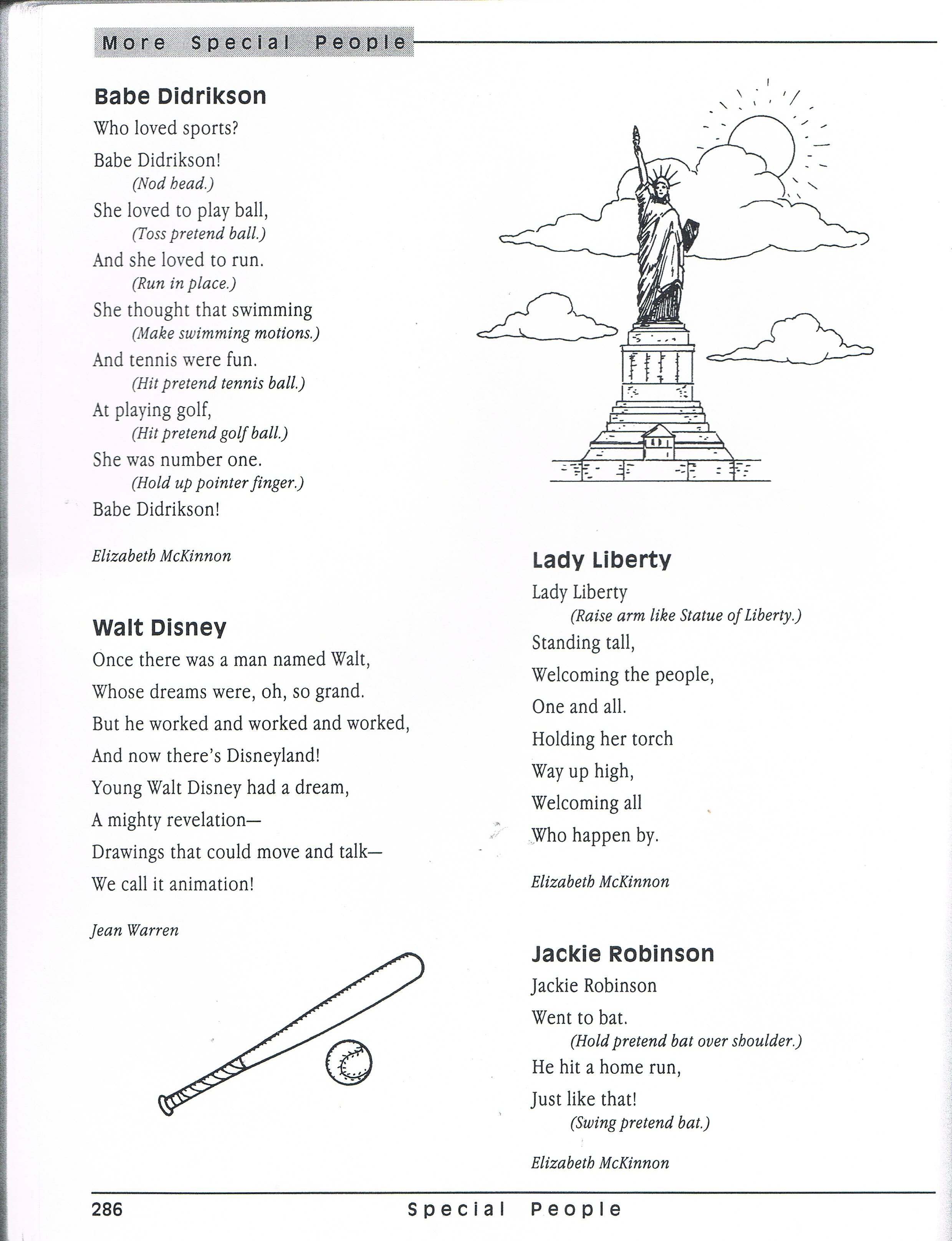 Statue Of Liberty Song