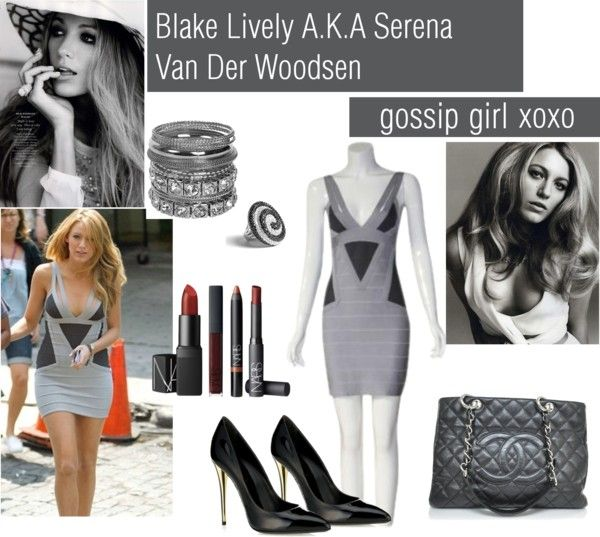 """Blake Lively AKA Serena Van Der Woodsen 