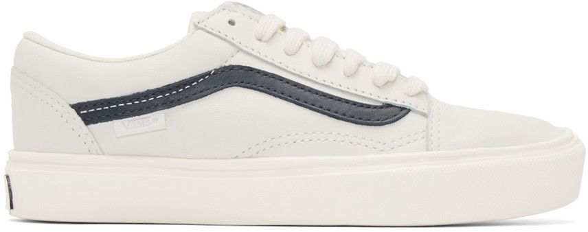 Vans - Baskets blanc cassé Old Skool Lite LX | Baskets ...