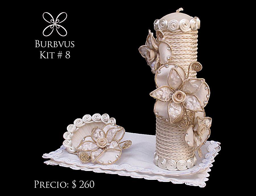 set de vela para nia disponible en color blanco o color hueso