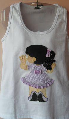 Patch Aplique em camiseta - O melhor do artesanato