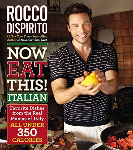 Now Eat This! Italian: Favorite Dishes from the Real Mamas of Italy--All Under 350 Calories by Rocco DiSpirito http://www.amazon.com/dp/0446584517/ref=cm_sw_r_pi_dp_ywx9wb1YMAZMJ