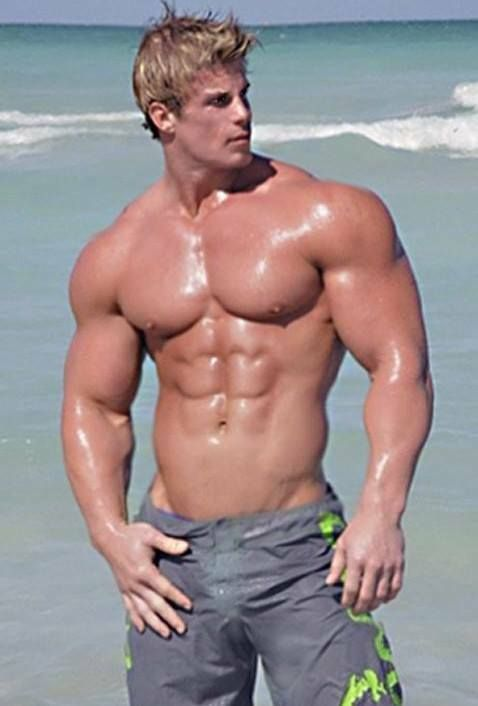 muscle men Blonde