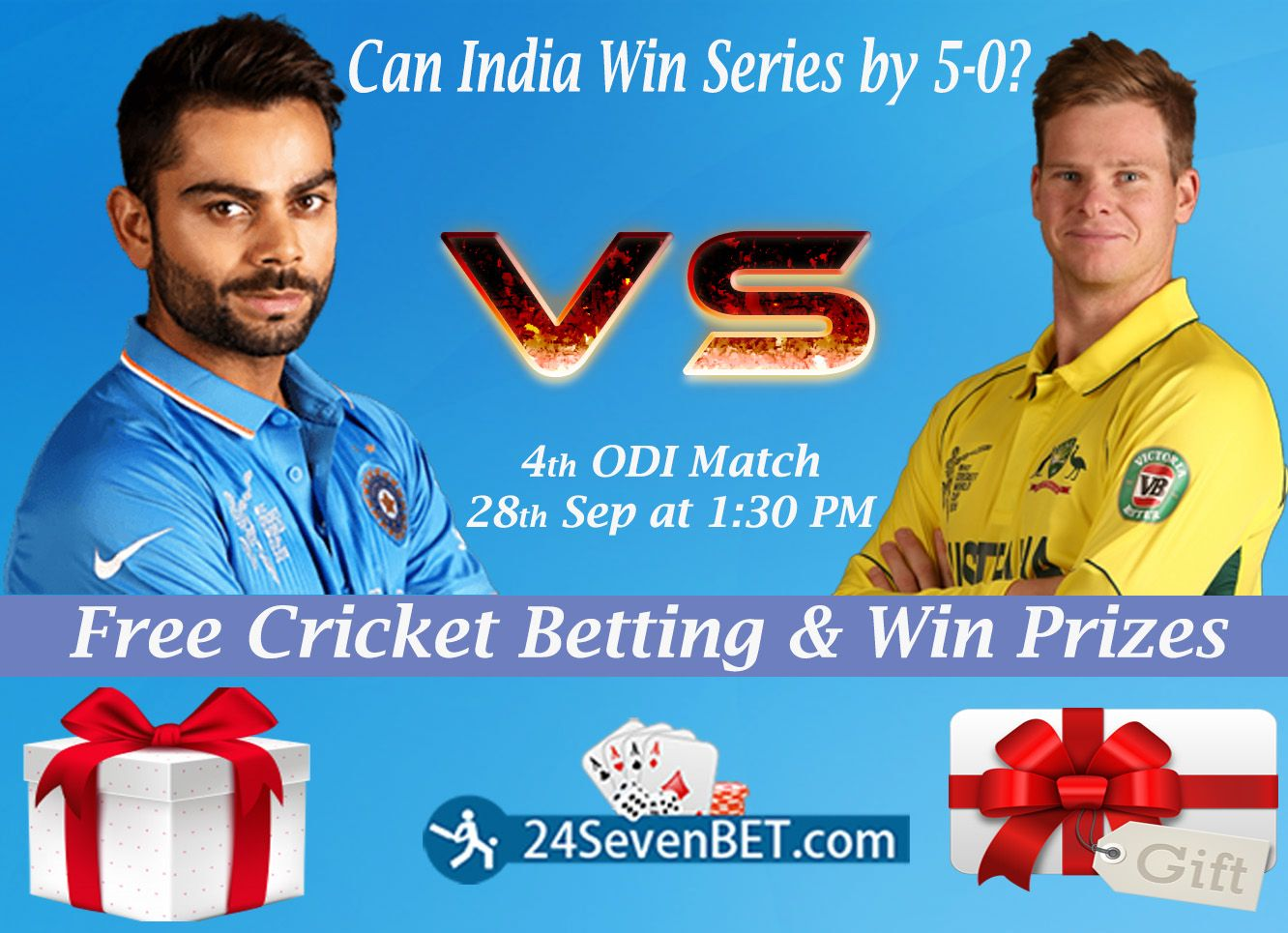 Can India Win 4th ODI Match and make a Clean Sweep by 50