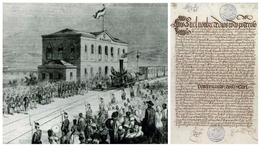 E FEMÉRIDES - 7 JUNHO         1494 – Os reinos de Portugal e de Castela assinam o Tratado de Tordesilhas  (ver imagem acima) ...