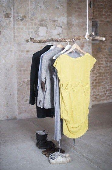 Kleiderstange Deckenmontage der decke hälngende astkleiderstange deckenmontage alles