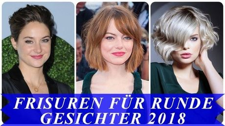 Kurzhaarfrisuren frau trend 2018 | Kurzhaarfrisuren rundes ...