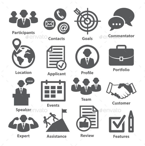Business Management Icons Pack   Business Management Icon