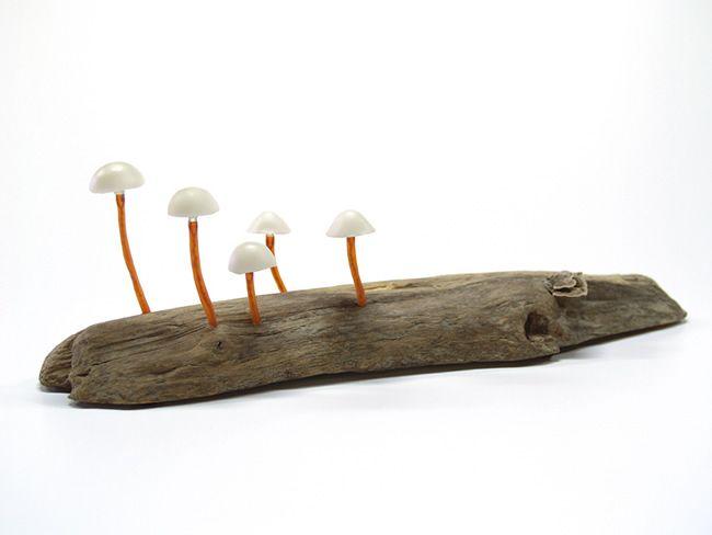 Mushroom Lighting by Yukio Takano